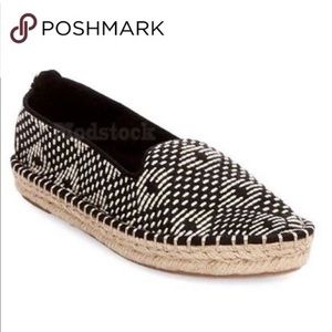 DV by Dolce Vita black woven espadrille flats